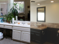 Bathroom Remodel After - Sinks