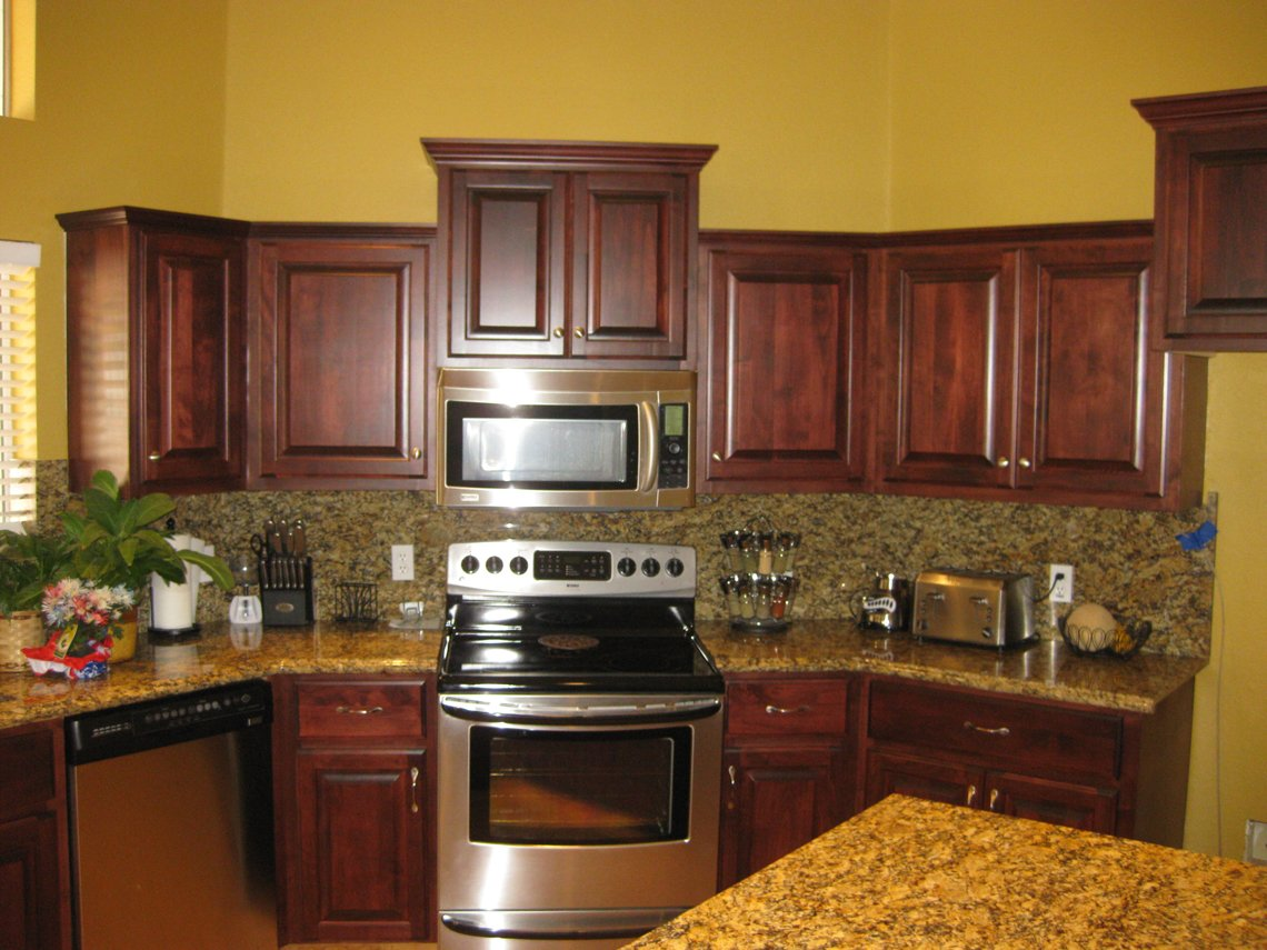BHB U2013 Kitchen Cabinets Remodel Cabinet Resurfaced New Drawer Fronts U0026 Doors  U2013 Mesa AZ