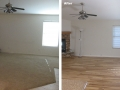 BHB Before and After Floors Remodel Hardwood Floors 2